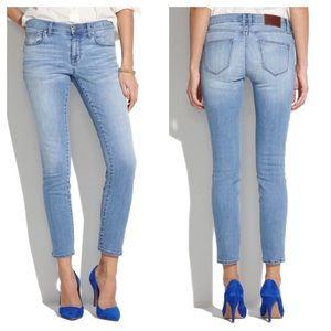 Madewell Skinny Skinny Jeans In Mist